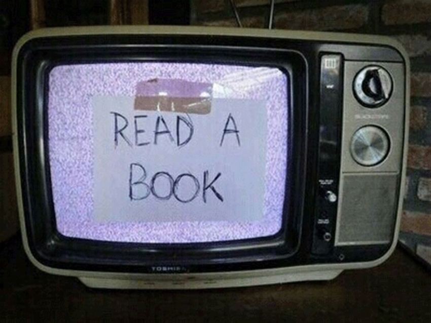 frankie's guide to books for people who watch too much tv