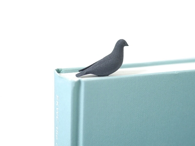 3d birdy bookmark