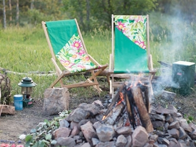 camp chair cover diy