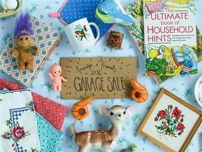 frankie and friends garage sale 2016