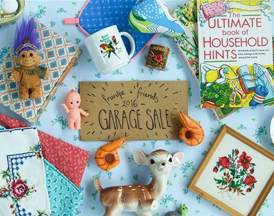 frankie and friends garage sale 2016