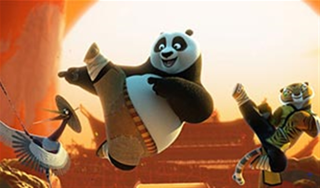 We Chat To Jack Black A.K.A. Po!
