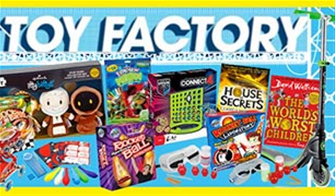 Our Most XTREME Toy Factory Prize Haul Yet