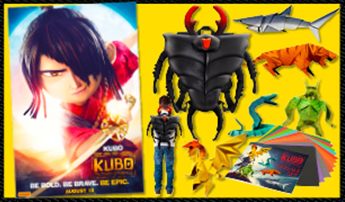 Win A Wicked Kubo and the Two Strings Prize Pack
