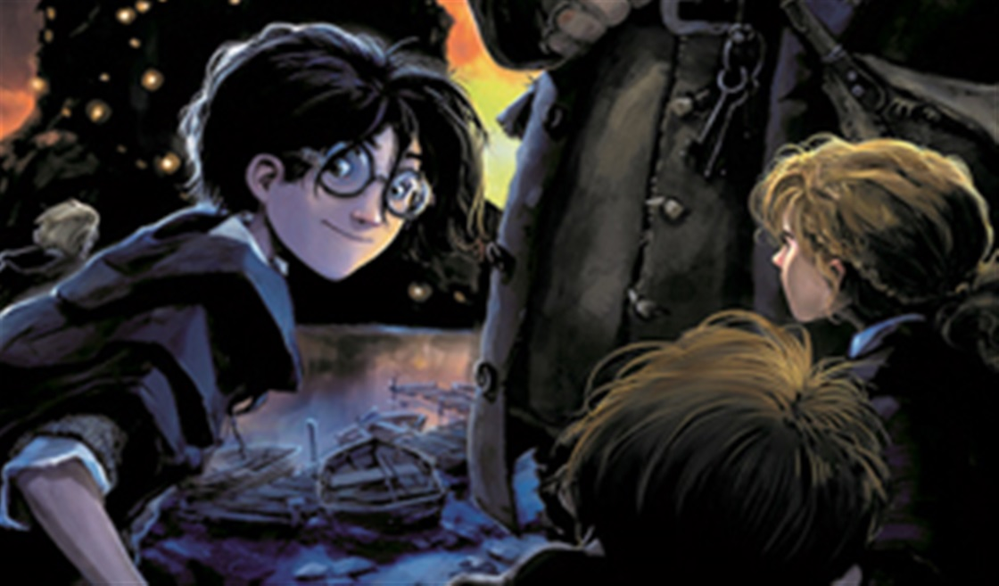 New Harry Potter Book Designs