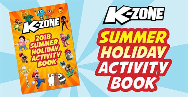 K-Zone's 2018 Summer Holiday Activity Book Solutions