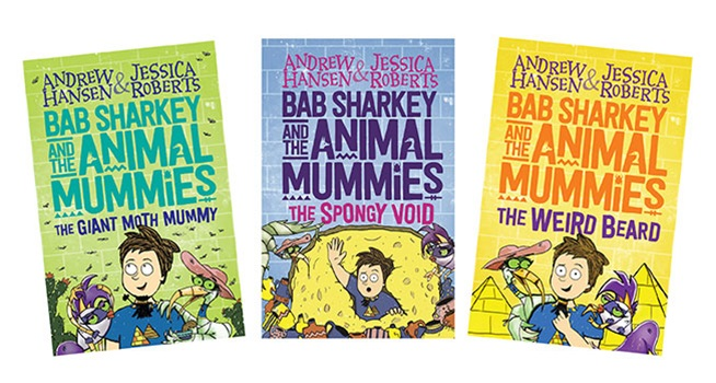 K-ZONE APRIL'19 BAB SHARKEY AND THE ANIMALS MUMMIES BOOK PACK GIVEAWAY
