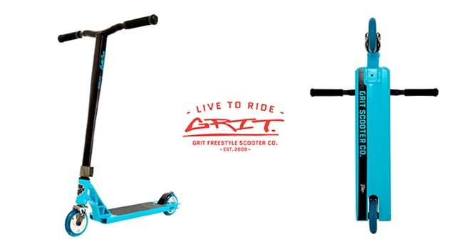 K-ZONE APRIL'19 GRIT ELITE SCOOTER GIVEAWAY