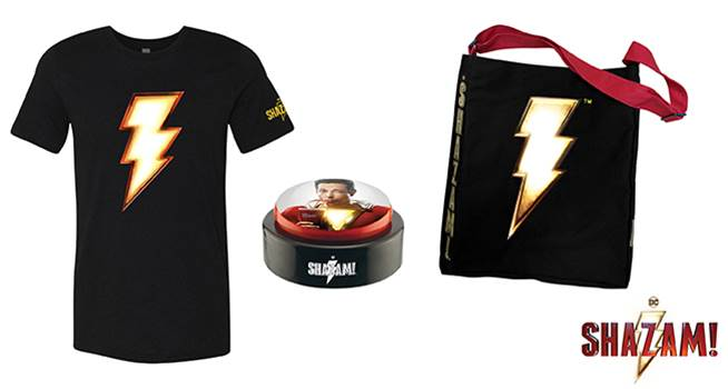 K-ZONE APRIL'19 SHAZAM! MOVIE MERCH PACK GIVEAWAY