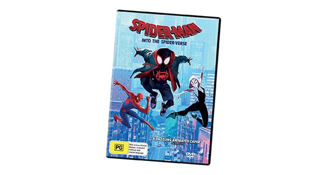 K-ZONE APRIL'19 SPIDER-MAN: INTO THE SPIDER-VERSE DVD GIVEAWAY