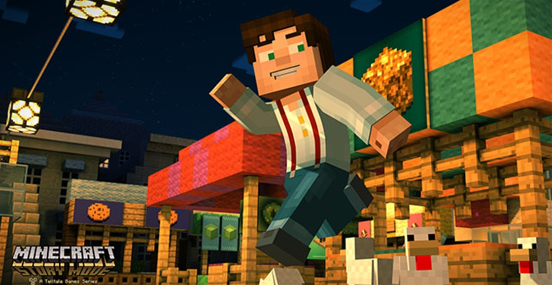 Minecraft Story Mode Out Now