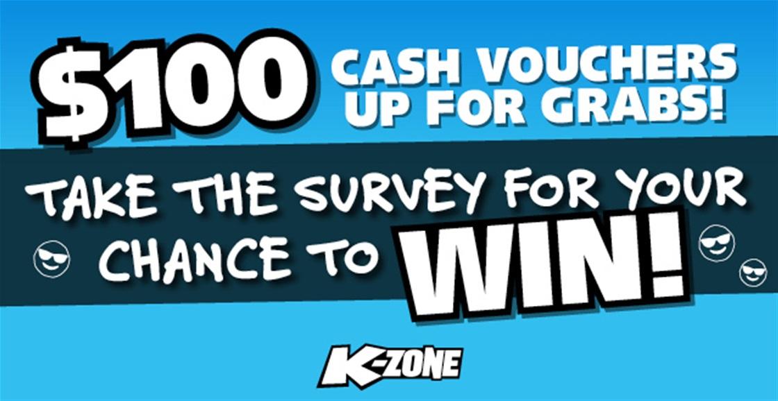 $100 Cash Vouchers Up For Grabs!