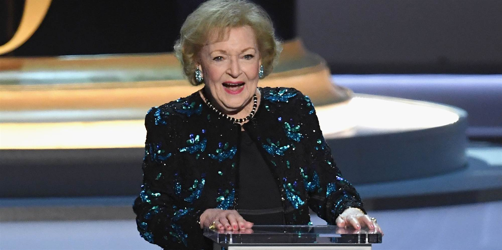 Betty White's Emmys Speech Proved Humor Is the Secret to Longevity