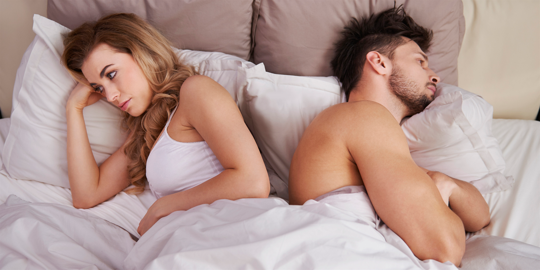 6 Possible Reasons Your Husband Doesn't Want Sex Like He Used To