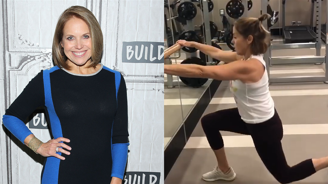 Katie Couric, 61, Reveals Shockingly Ripped Arms in Instagram Workout Video
