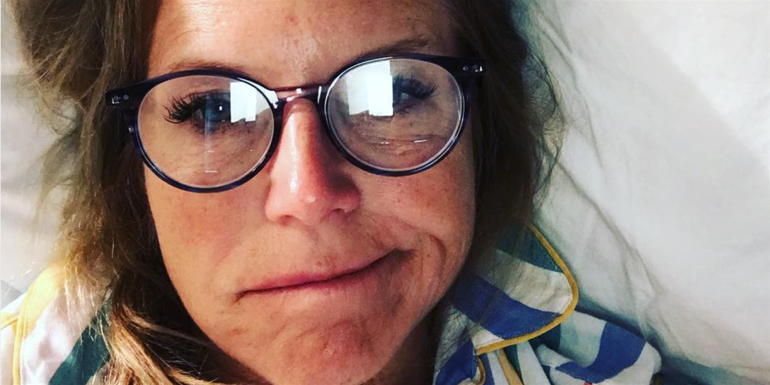 Katie Couric Gets Real About Plastic Surgery in No-Makeup Selfie