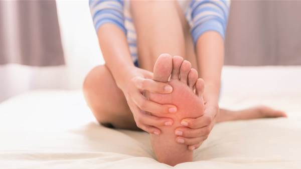 Ease Foot Pain in 2 Minutes with this Plantar Fasciitis Massage