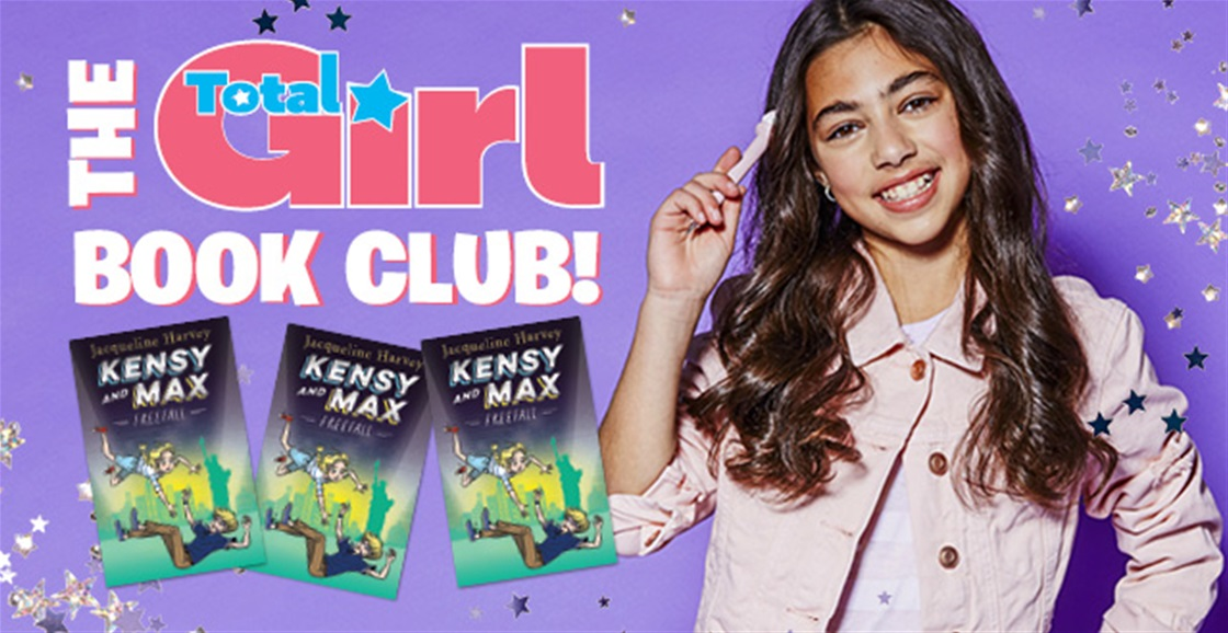 Join Total Girl's Book Club + WIN | 2020
