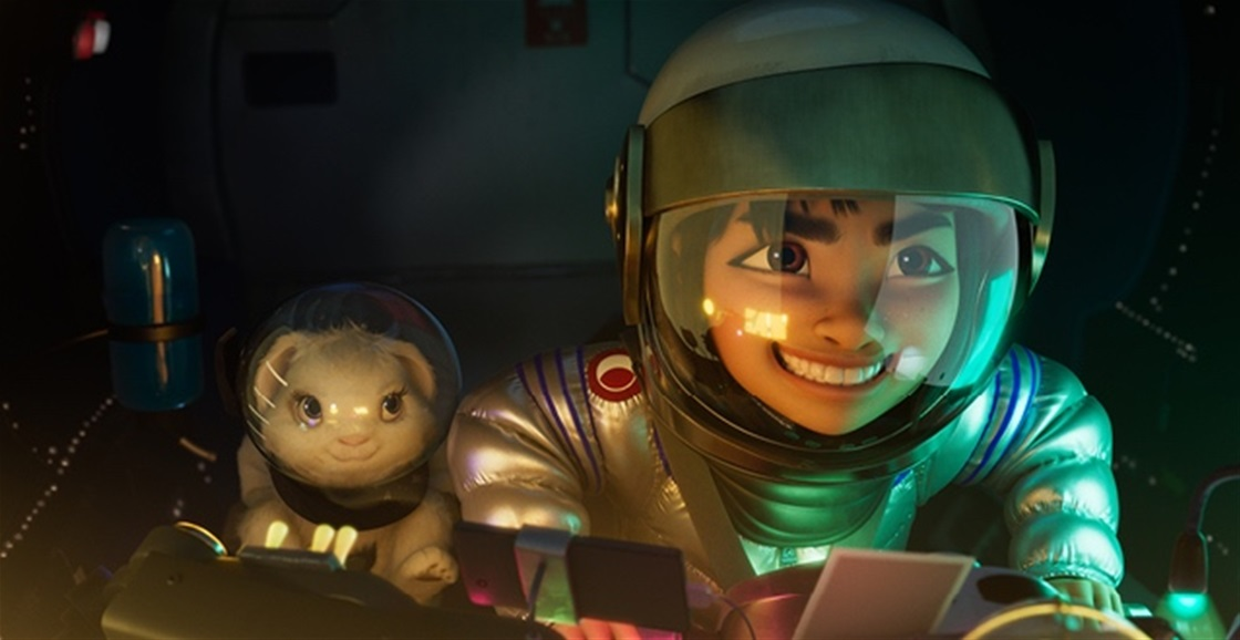 Sneak Peek: Over The Moon (Netflix)
