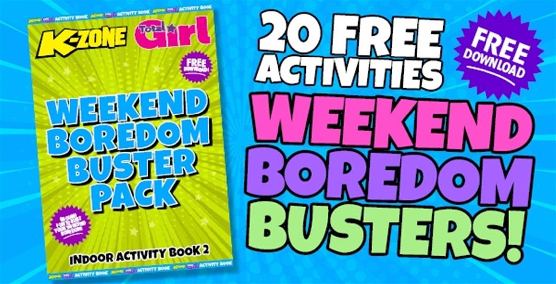 Free Weekend Boredom Busters