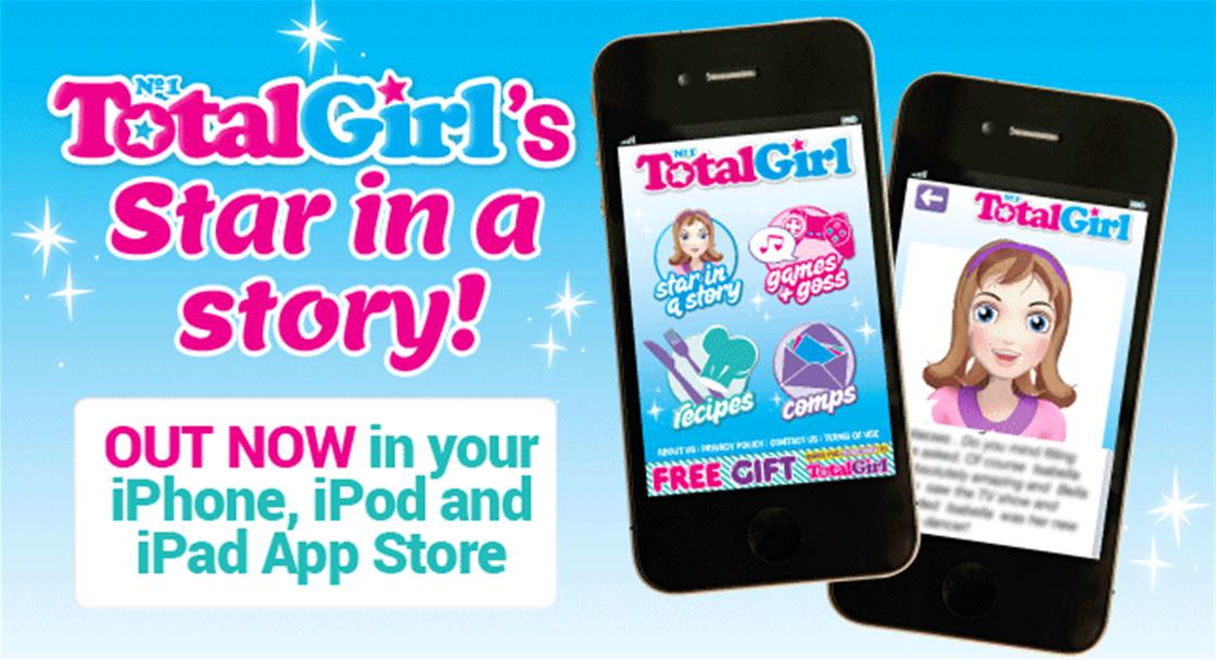 Total Girl's New App