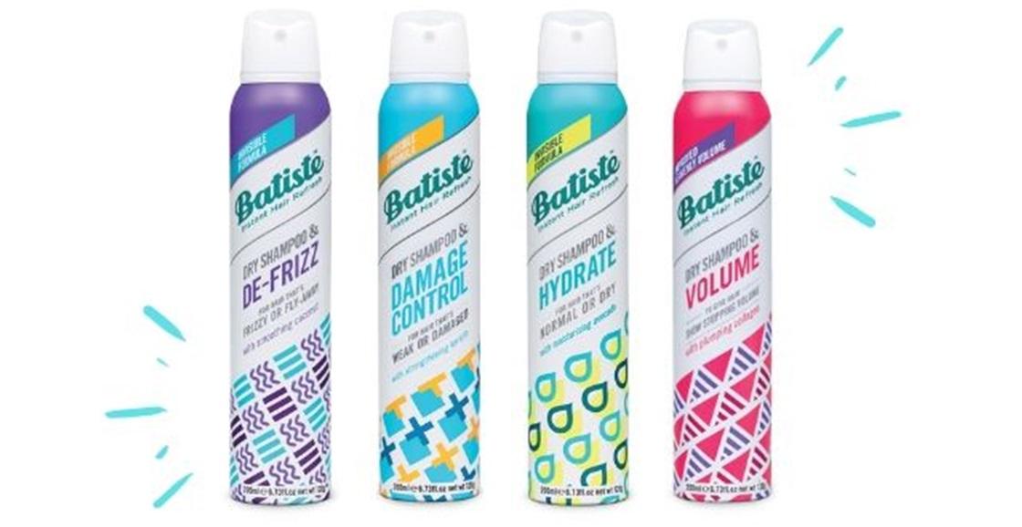 Shake up your dry shampoo
