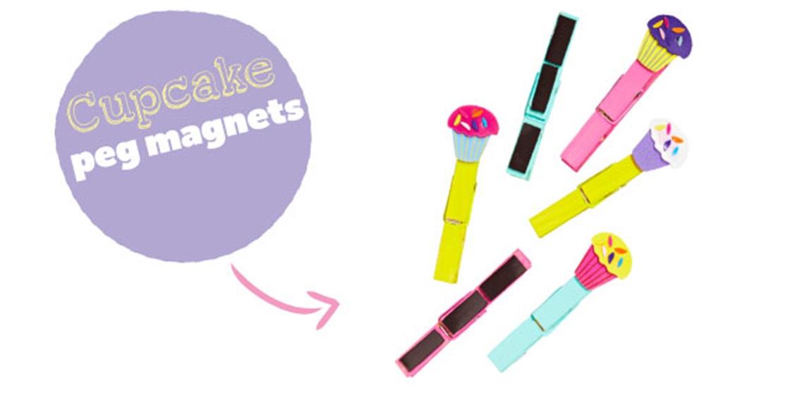 Cute Peg Fridge Magnets