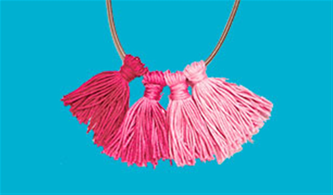 Pretty Tassel Necklace DIY