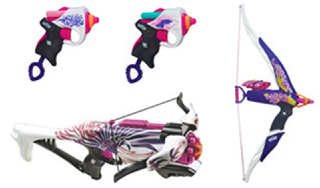 What's Your NERF Rebelle Style?
