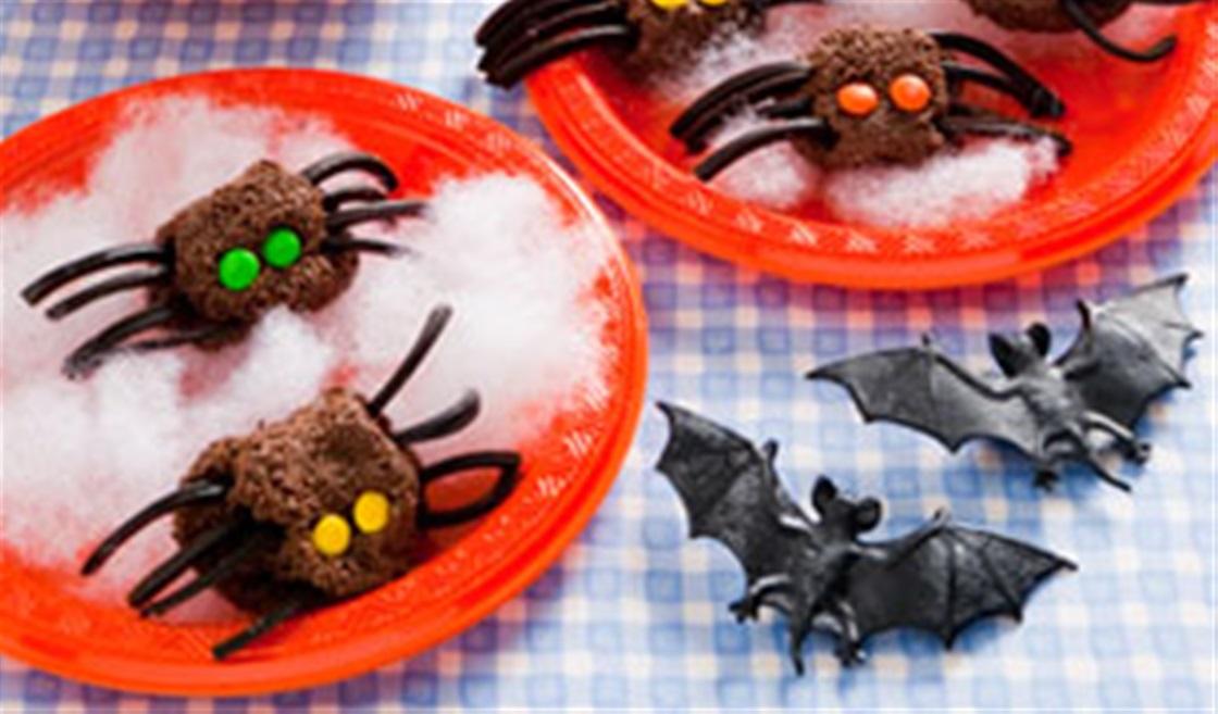Halloween Spider Truffles Recipe