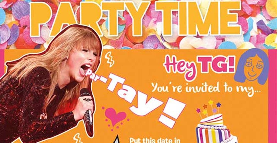 TG Party Invitation