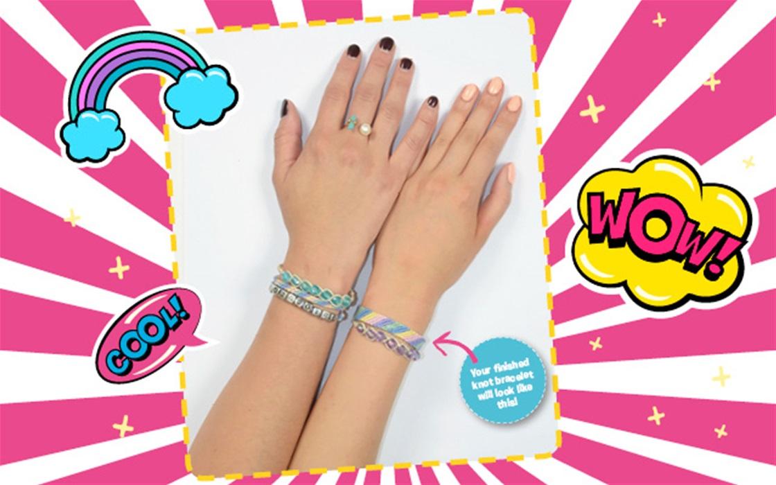 DIY knot bracelets!
