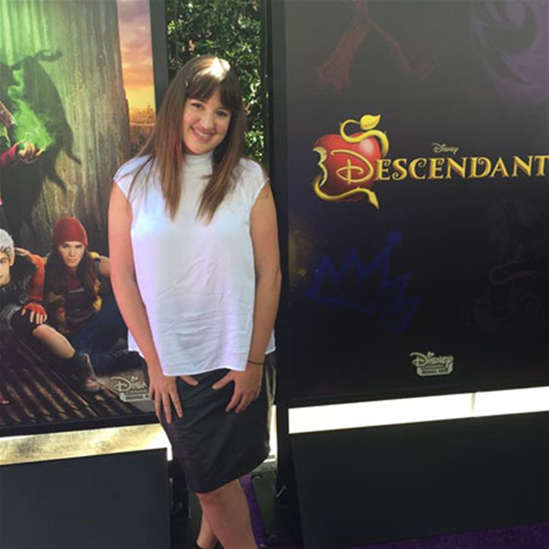 TG's Mel goes to Disney's Descendants Premiere – in LA!