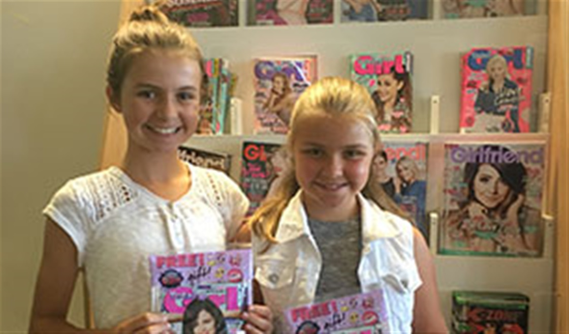 A Visit to the Total Girl Offices