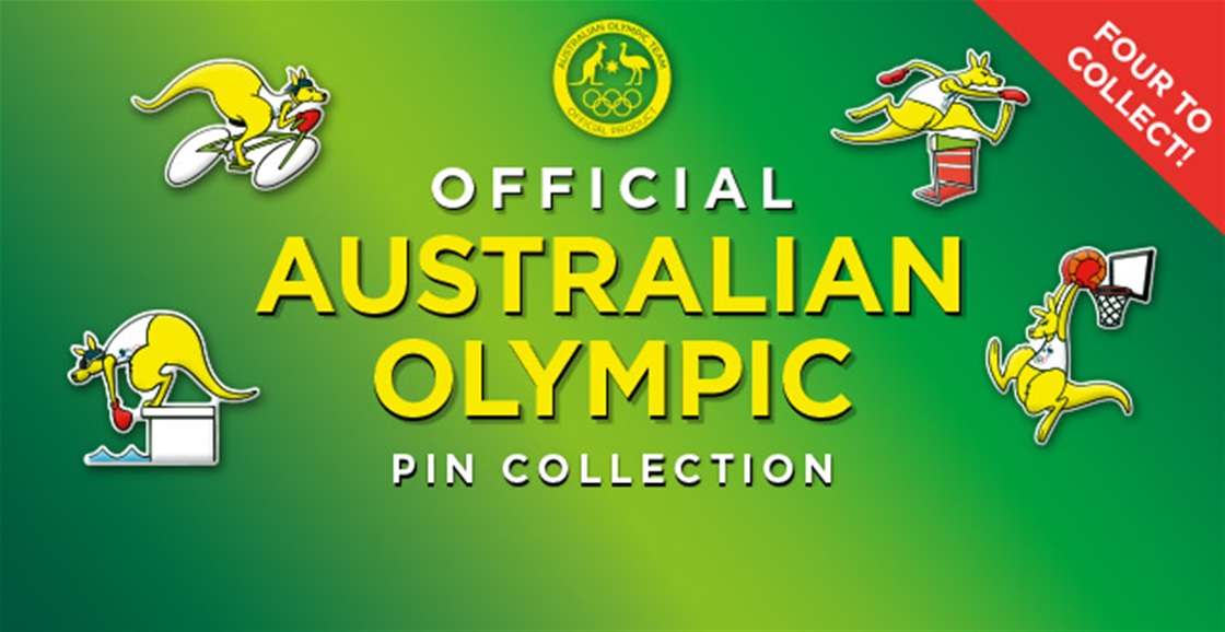 Boxing Kangaroo Olympic Pins To Collect!
