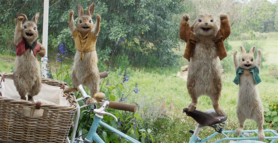 Watch the ca-ute Peter Rabbit trailer!