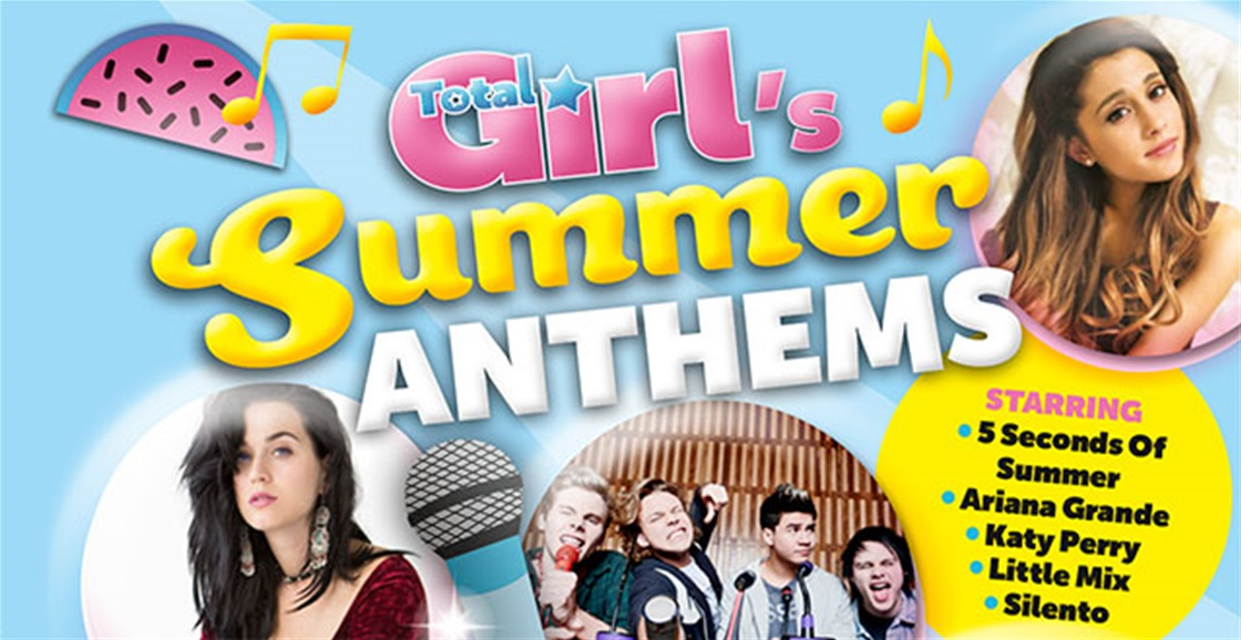 Total Girl's Summer Anthems Album Out Now!