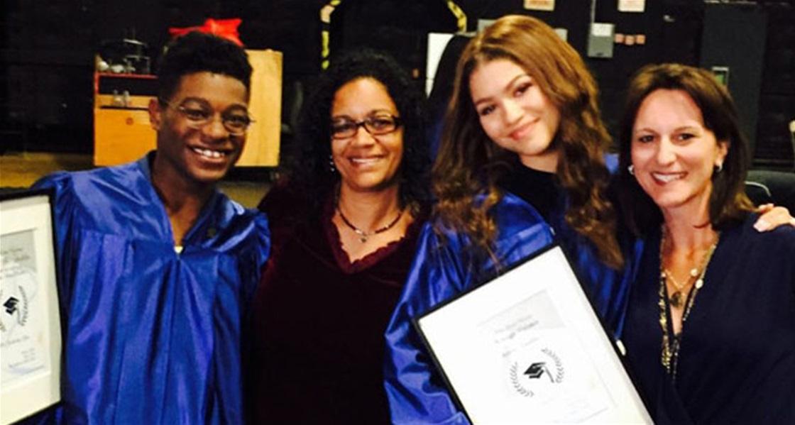 Zendaya Just Graduated High School!