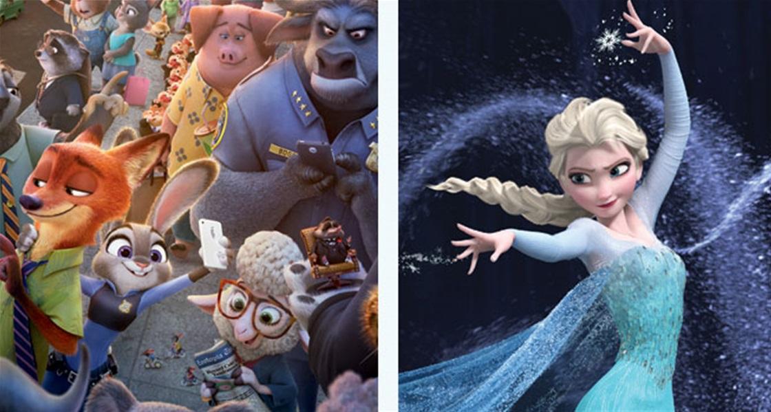 Zootopia Has Hidden Frozen References!