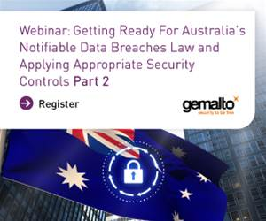 Webinar 22nd Nov – Australia's Mandatory Notifiable Data Breaches Regulation – Are you ready