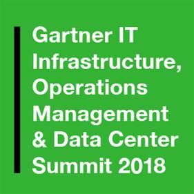 Gartner IT Infrastructure, Operations Management & Data Center Summit