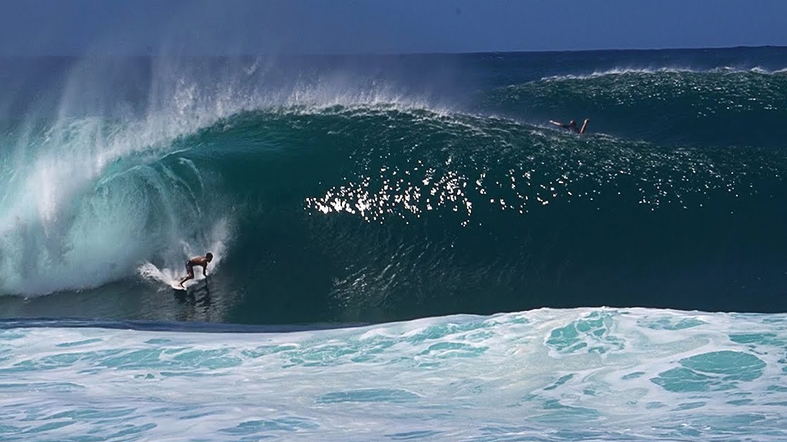 Watch: Raw Footage of Pristine Pipe