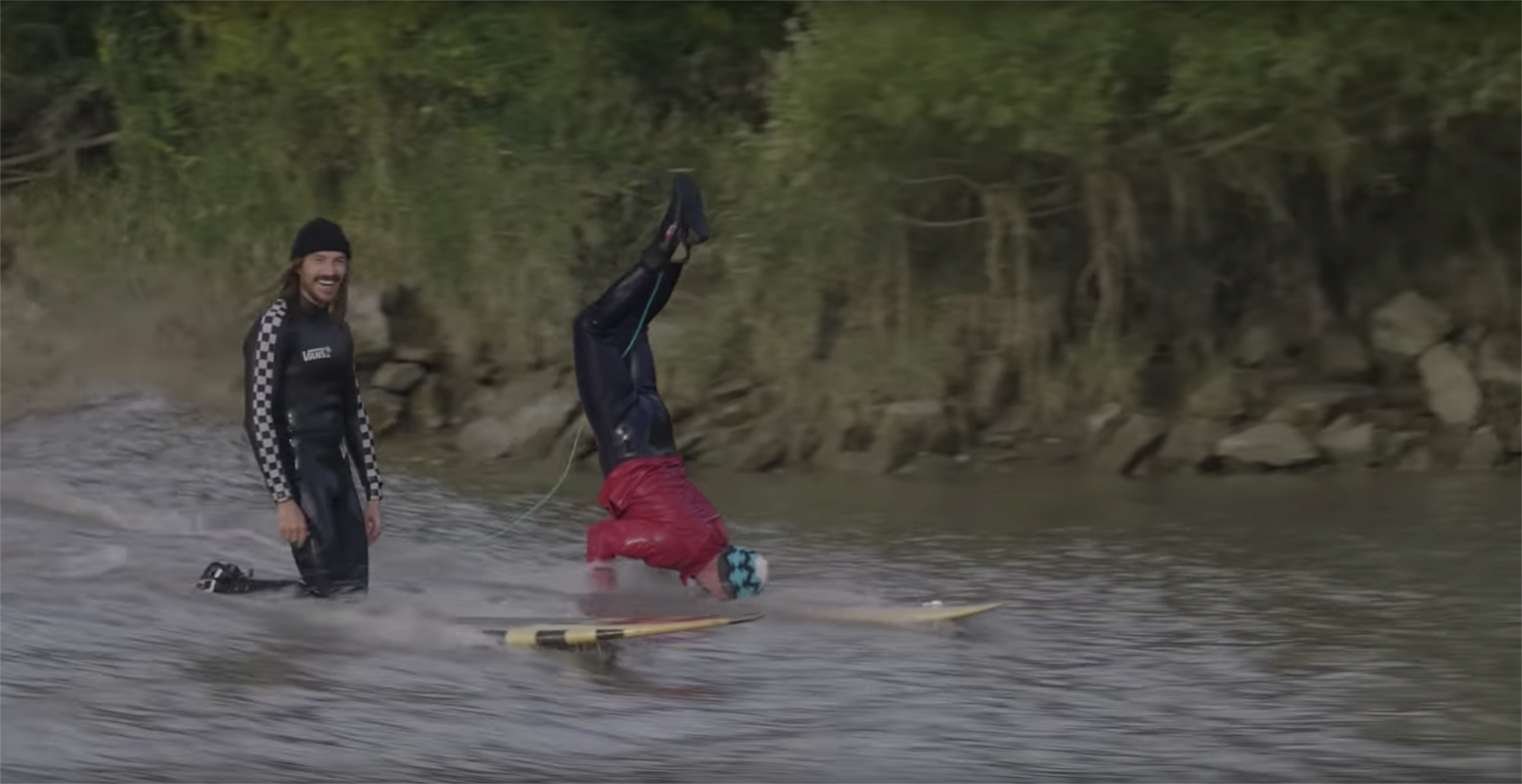 Weird Waves The Severn Bore Tracks Magazine The Surfers