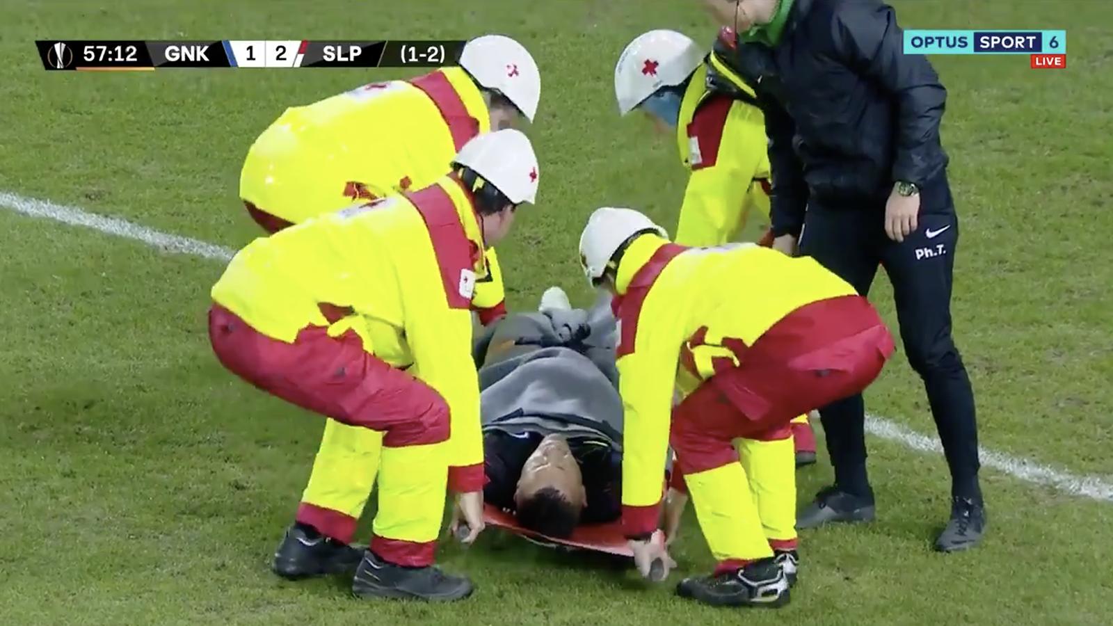 Watch! Horror injury for Vukovic