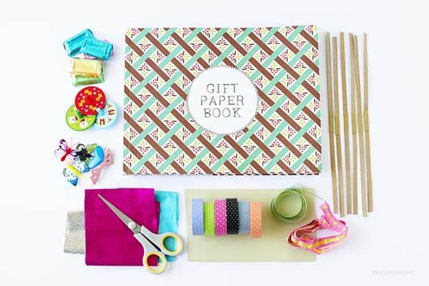 DIY Frankie Gift Wrap Bon Bons by Penelope and Pip