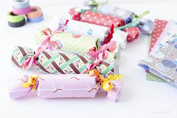 DIY Frankie Gift Wrap Bon Bons by Penelope and Pip Finished 4