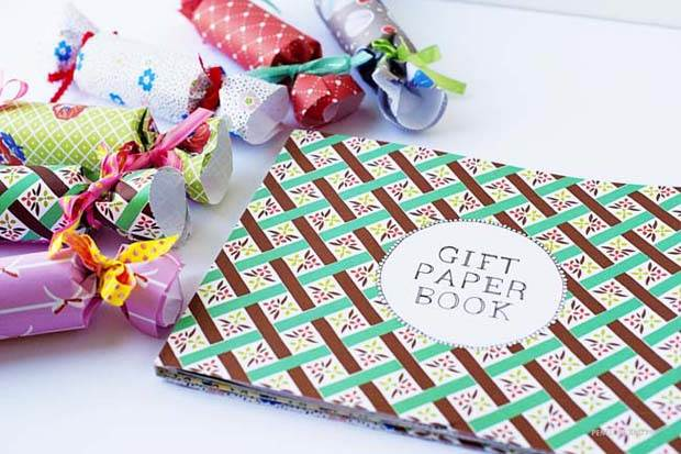 DIY Frankie Gift Wrap Bon Bons by Penelope and Pip Finished 5