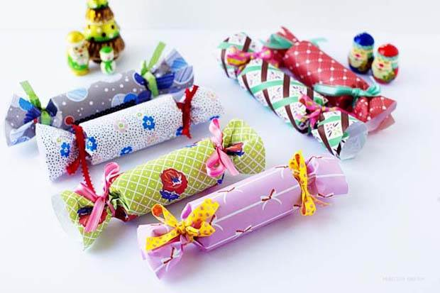 DIY Frankie Gift Wrap Bon Bons by Penelope and Pip Finished 6