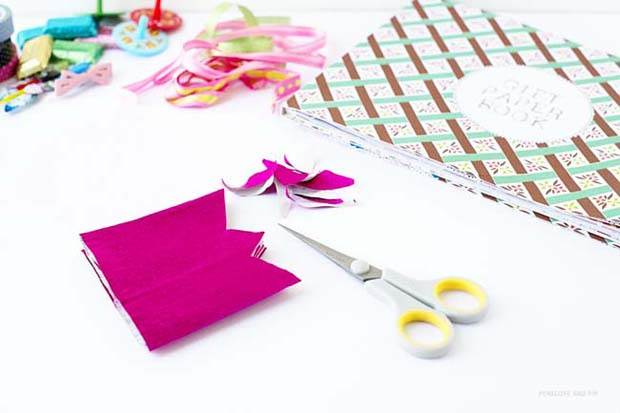 DIY Frankie Gift Wrap Bon Bons by Penelope and Pip STep 1