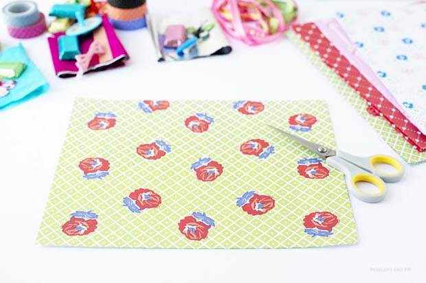 DIY Frankie Gift Wrap Bon Bons by Penelope and Pip Step 4